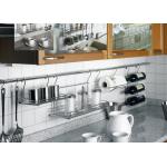 Set Βέργας Κουζίνας Φ16 σε χρώμιο 120εκ διάσταση