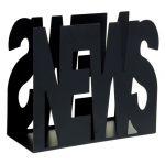 Θήκη για εφημερίδες - περιοδικά Pam 403 σε ΜΑΥΡΟ