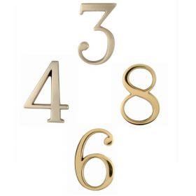 Αριθμοί κατοικίας σε Νίκελ ματ