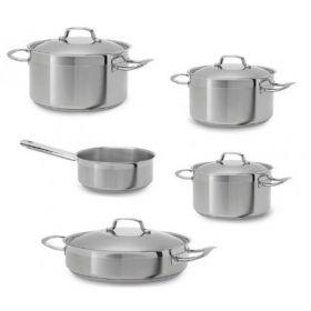 Set 5 τεμ. μαγειρικά σκεύη - κατσαρόλες TEKA inox